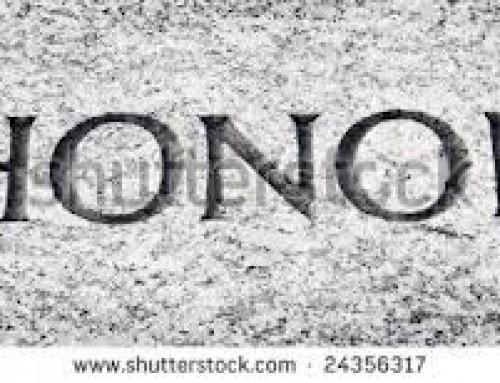 Mensaje de Honor en Lech Lecha Genesis 12:1-17:27 2014-15