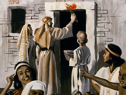 El Antiguo Medio Oriente Y El Exodo en Pascua